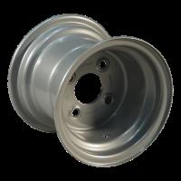 Komplettrad 18x8.50-8 V-3501 6PR + 7.00Bx8H2 ET0 60/100/4 Stahl, grau