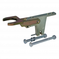Fixed lock A60 not approved 2x vertical M12 for trailers without brake