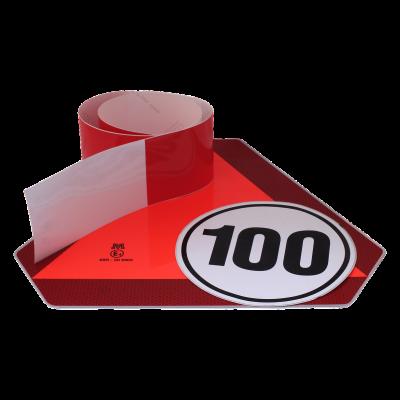 Markeringsborden, -stickers en -tape