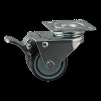 Lenkrolle mit Feststeller 50mm Serie 68-62