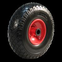 Zwenkwiel geremd 3.00x4 blok + 2.10X4 rollager Ø20 NL75 91 staal, rood