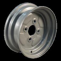 Komplettrad 5.00-10 V-8501 4PR + 3.50Bx10H2 ET0 60/100/4 Stahl, grau