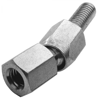 ADKG / ANS/M08/ADA/002 Ball-and-socket joint axial ADKG8 M8 60N inb. 31 zinc plated