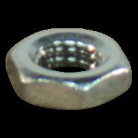 Sechskantmutter, niedrich M8x1,25 Edelstahl AISI 304