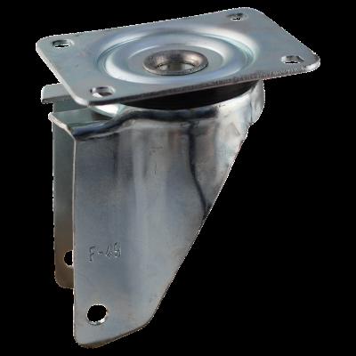 Roulette pivotante 200x50 V-5501 2PR 1.25x3.8 (200x50) ET0 NL60 11 métal, gris
