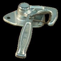 Angle level fastener spring stainless steel nr. 1 left