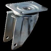 Swivel castor with brake 200x50 V-5501 2PR 1.25x3.8 (200x50) ET0 NL60 11 steel, grey