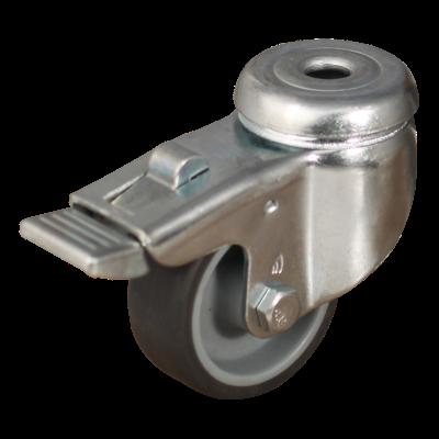 Lenkrolle mit Feststeller 50mm Serie 68-60