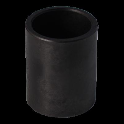 Entretoise de roulement Ø60,5/50 hauteur 75,5 pour essieu auto-directeur