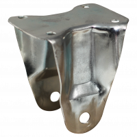 Fixed castor 185 Plate mounting 160mm series 07 - 11
