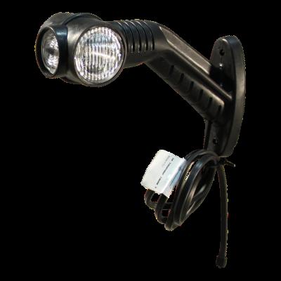 Contourlamp Aspöck Superpoint III LED links, DC kabel 860mm