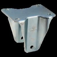 Fixed castor 125mm serie 33 - 16