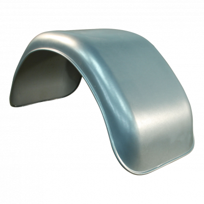 Spatscherm enkel as staal 250mm x 600mm