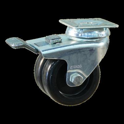 Zwenkwiel geremd 75mm serie 65 - 42