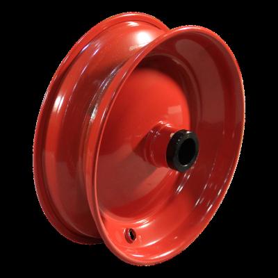Rad 2.50Ax8H2 ET0 Rollenlagersitz Ø30.2 NL84 Stahl, Rot