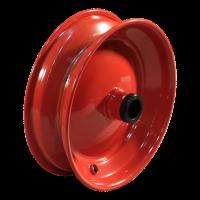 4.80/4.00-8 V-6635 4PR 2.50Ax8 ET0 rollager Ø25 NL100 20 staal, rood