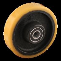 Roue fixe 125mm série 28 - 12 M10x70