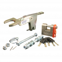 Fixed Lock A60 SCM 2x vertical M12 for trailers without brake