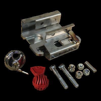 Disselslot Benlock A50 incl. safetyball ongekeurd 2x horizontaal M12