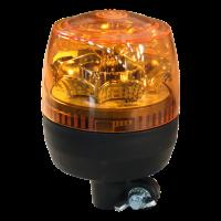 Zwaailamp LED 12-24V oranje steekbevestiging, flexibele voet
