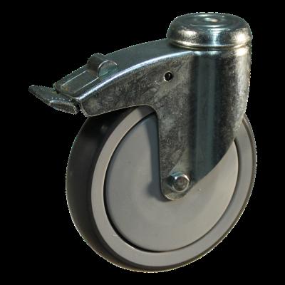 Lenkrolle mit Feststeller 150mm Serie 69-61