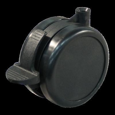 Lenkrolle mit Feststeller 90mm Serie 65 - 73