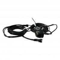 Cable harness with for socket 13-poles 6.000 bajonet 5-polig , branching 2x 4,2m DC ,