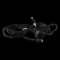 Faisceau de câbles pour prise 13 pôles 6.000 5-pôle baïonnette , embranchement 2x 4,2m DC ,