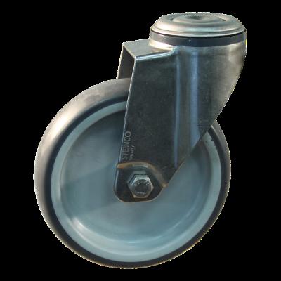 Roulette pivotante 125mm serie 69 - 38