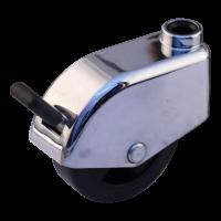 Lenkrolle mit Feststeller 49mm Serie 74-61