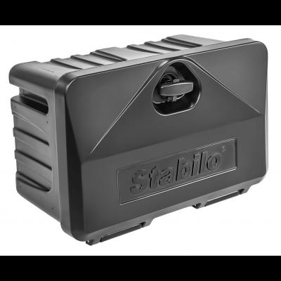 Tool box plastic, Stabilo®-box 500-3, swing-lock with lock 510x340x300mm