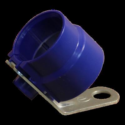 Plug holder PA, sky blue RAL 5015 7+ 13 poles