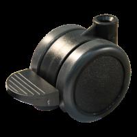 Lenkrolle mit Feststeller 13229 50mm Serie 74-73
