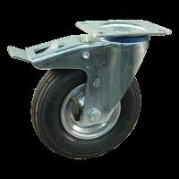 Swivel castor 200x50 V-5501 2PR 1.25x3.8 (200x50) ET0 NL60 12 steel, grey