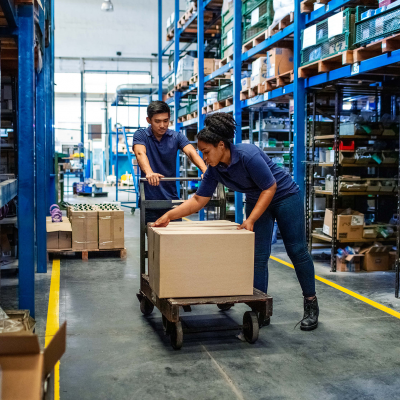 Industrie en interne logistiek