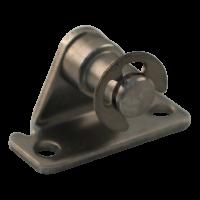 Support R6 BB20/Z06 inox 316 support transversal hauter 14 mm, 2 trous Ø4,3mm op 19mm. tenon Ø6x6,5mm. Max 500N