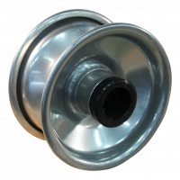 Bokwiel 3.00-4 V-6605 2PR 2.10x4H2 ET0 NL69 91 staal, grijs
