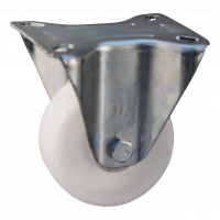Bockrolle 106 Plattenbefestigung 80mm Serie 34-13
