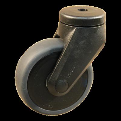 Roulette pivotante 100mm serie 66 - 84