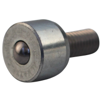 Ball fixing unit mini Ø9,6 type 13 (steel ball, galvanized housing)