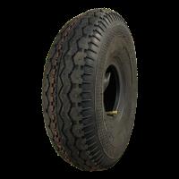 4.00-4 V-6504 4PR 2.10-4H2 ET0 roller bearing Ø25 NL75 20 steel, grey