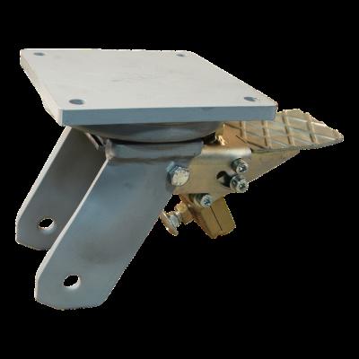 Zwenkwiel geremd 200mm serie 04 - 20
