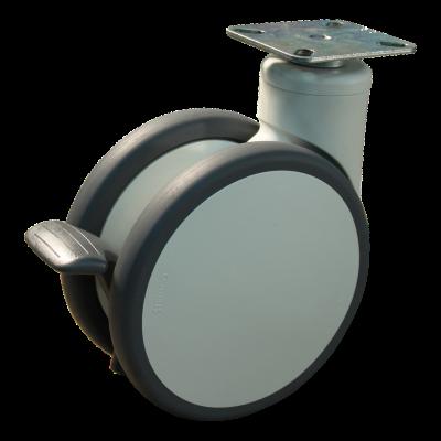 Roulette pivotante 150mm série 55 -76
