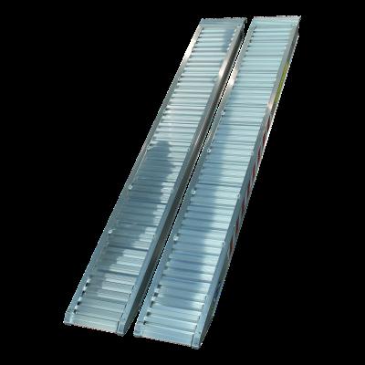 Oprijplaat recht aluminium 2500 x 360
