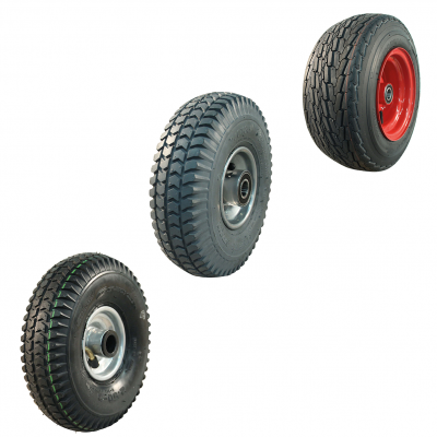 Roue complète petit pneu / transport interne / brouette et diable