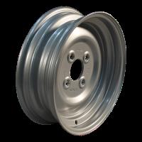 Komplettrad 6.00-12 V-8803 6PR + 4.00Bx12H2 ET0 60/100/4 Stahl, grau