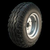 Komplettrad 10.0/75-15.3 IMP NIM01 10PR + 9.00x15.3 ET-5 161/205/6 123 (nicht angetrieben Rad) / 111 (angetrieben Rad) A8 Stahl, grau