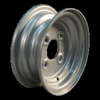 Komplettrad 4.00-8 V-40 8PR + 3.00Dx8 ET0 60/100/4 Stahl, grau