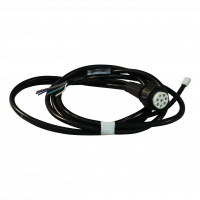Cable harness with open end right 2m bajonet 8-polig , branching 1x 500 DC