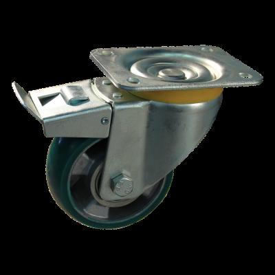 Zwenkwiel geremd 125mm serie 03 - 16